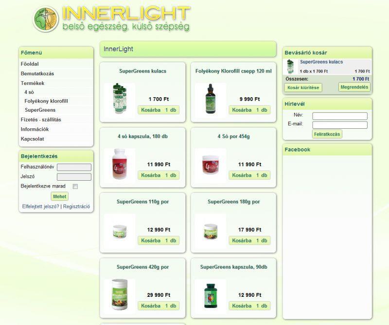 Innerlight Webshop